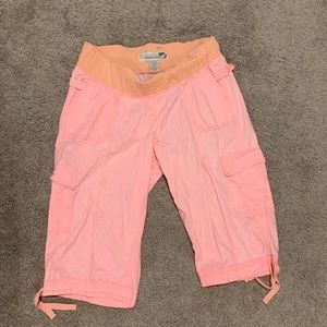 Pants - Maternity Cargo Capri Pants!